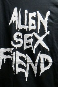 Alien Sex Fiend - das meistgetragene T-Shirt der Szene_copyright clerique noire