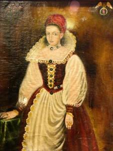 Porträt der Blutgräfin Elisabeth Bathory