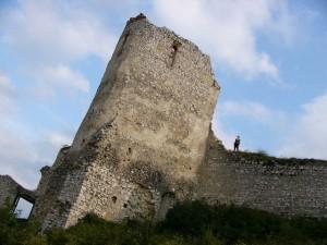 Burgturm von Cachtice
