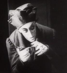 """Max Schreck als Graf Orlok in """"Nosferatu"""""""