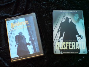 meine Nosferatu DVDs
