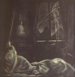 Nosferatu Drehbuchskizze von Albin Grau
