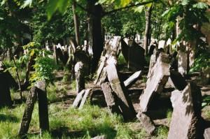 gothic prag alter jüdischer friedhof
