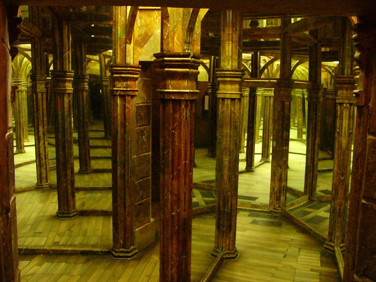 gothic prag spiegellabyrinth petrin laurenziberg