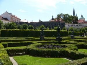 Prag Garten Palais Waldstein