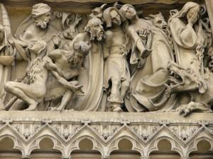 Vysehrad Prag St.Peter und Paul Abstieg in die Hölle