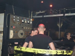 Dark Party Wien-U96-DJPult