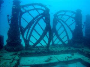 Eingang zum Unterwasserfriedhof Miami (Foto: von Elkman (Eigenes Werk) [CC-BY-SA-3.0, Wikimedia Commons)