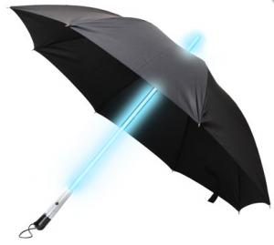 Bladerunner-LED-Schirm