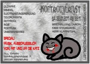 Kontrollverlust-Katzenparty-flyer-22.01.2011