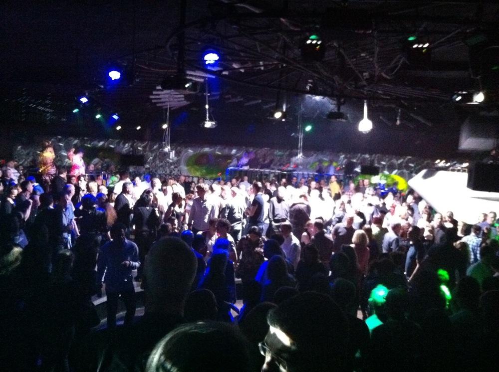 Cocoon Club Frankfurt Music Hall Revival 2012 Der Schwarze Planet