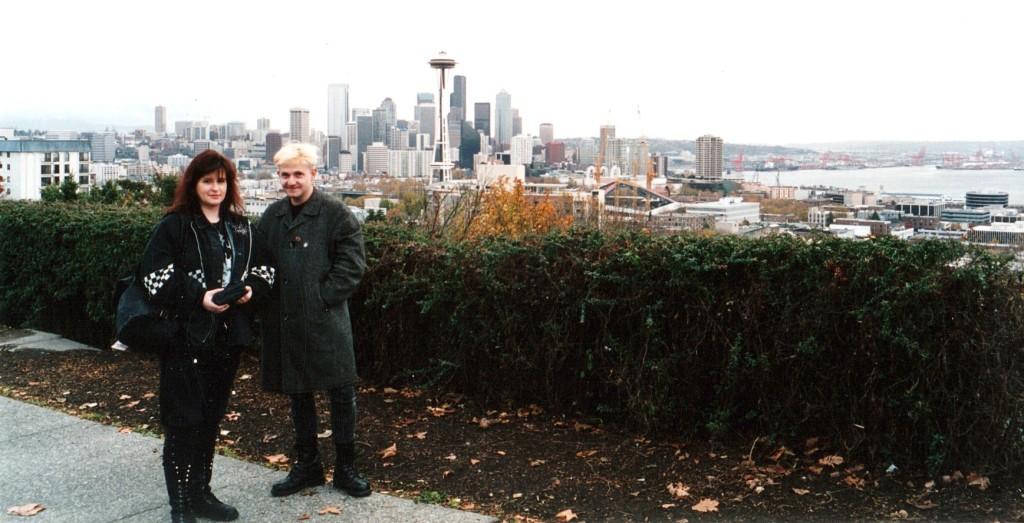 Petra & Matthias in Seattle 1994 - das SHADOW CAST als ideale Verbindung von Urlaub und Hobby :)
