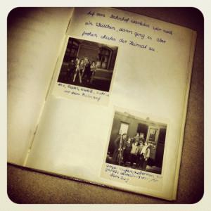 Das Foto-Tagebuch meiner Mama von 1960 - als man die Rückseiten (links) noch nicht beschriftete