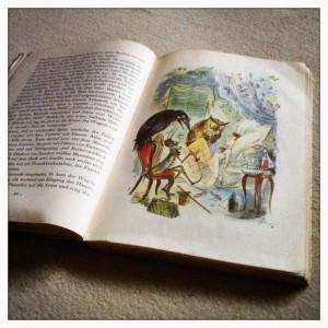 Echte, gelesene Kinderbücher sehen übrigens so aus (Pinocchio)