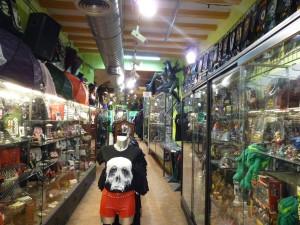 Blick in den Camden Gothic Shop