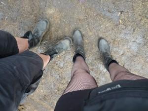 Gibt es für Schuhe eine Abwackprämie? Links: r@zorbla.de Rechts: meine (die ich zurückließ)