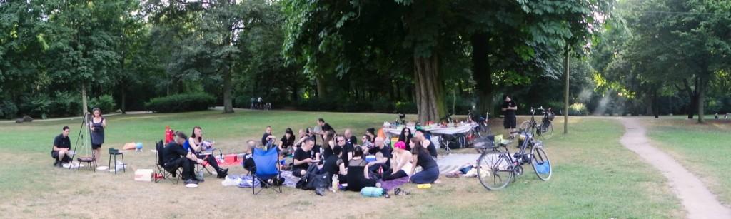 Todesrodler beim Sommergrilen 2013 - wir waren auch dabei! ;) (Foto: Jan)