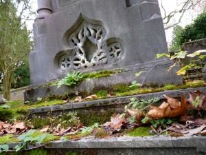 Carl Mayer Rothschild - letzte Stufen an seinem Grab
