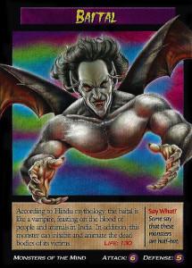 Trading Card Baital (Foto: Wierd N'wild Creatures Wiki)