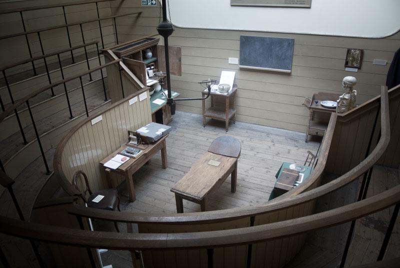 Operationssaal zu viktorianischen Zeiten (Foto: Bea v.T.)