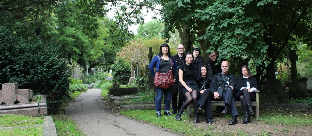 "Die ""Friends of Highgate Cemetery"" aus Deutschland :)"