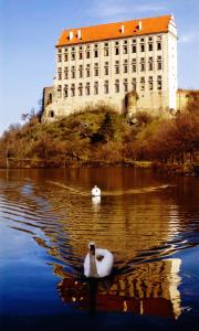 Schlossruine Plumlov Foto: Ivo Snidal