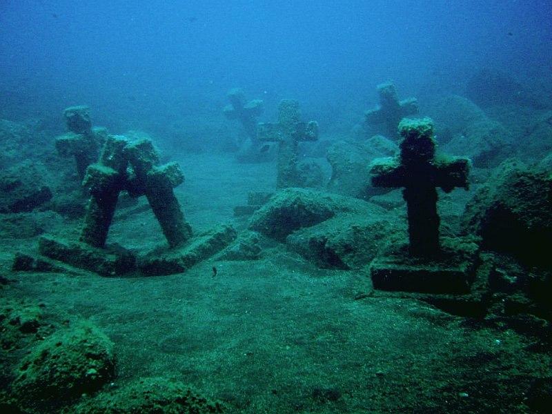 Schon mal einen Tauchkurs wert: der Unterwasserfriedhof in La Palma (Foto: la-palma-tauchen.de)