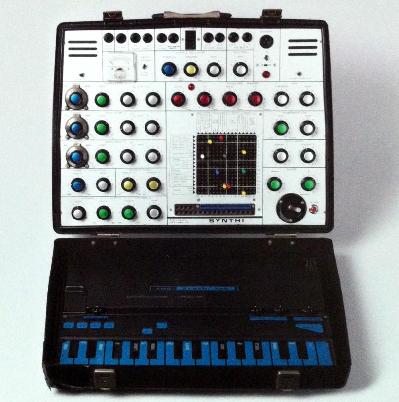 Synthesizer David Bowies in Berlin (ein Geschenk)