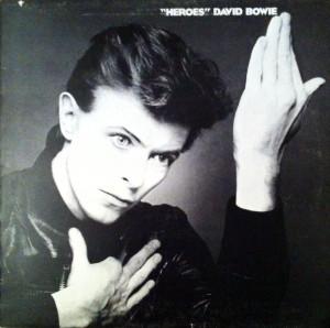 "Das einzige komplett in Berlin entstandene Album ""Heroes"" - aufgenommen in den Hansa-Studios 'by the wall'"