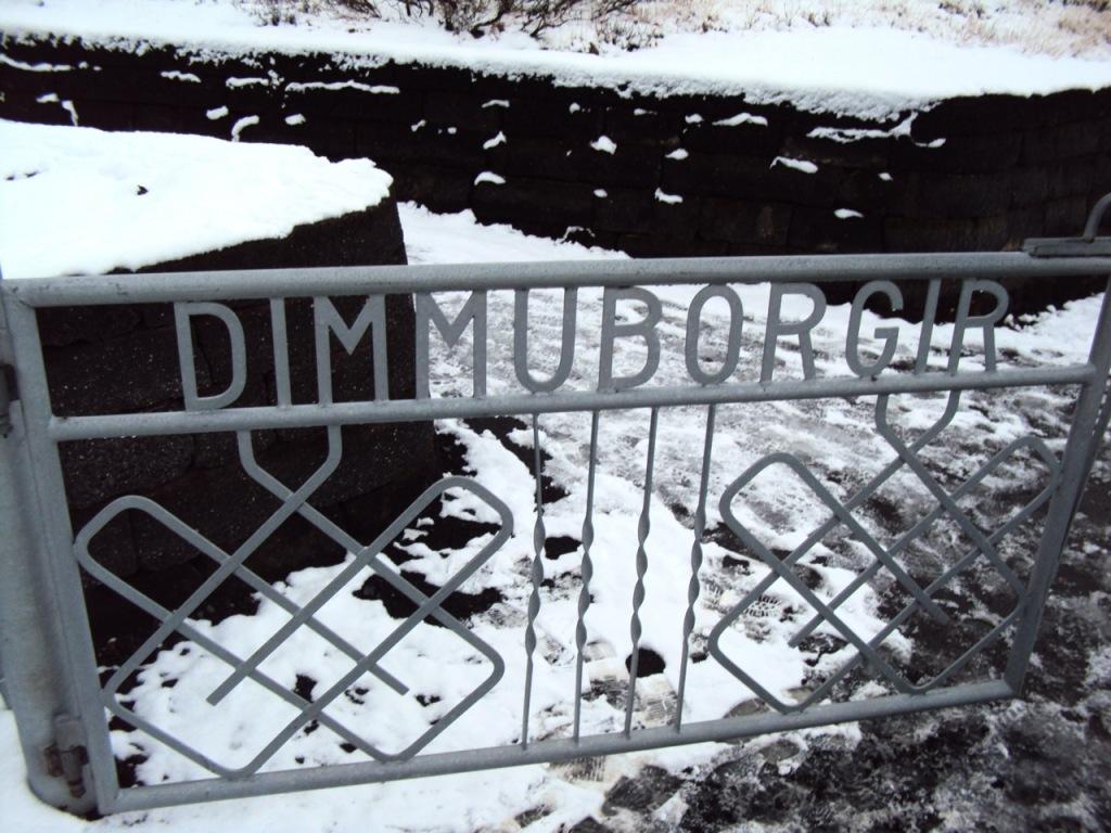 Dimmuborgir-island