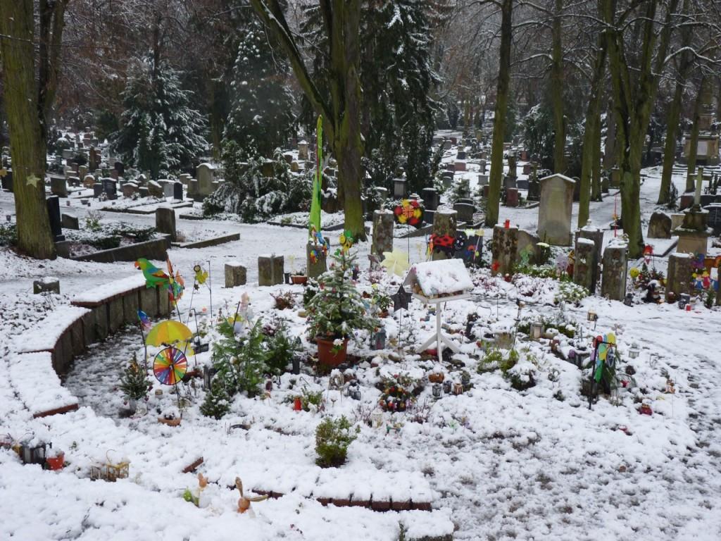 """Der """"Sternengarten"""" - trauriger Friedhof für früh- und nicht-geborene Kinder"""