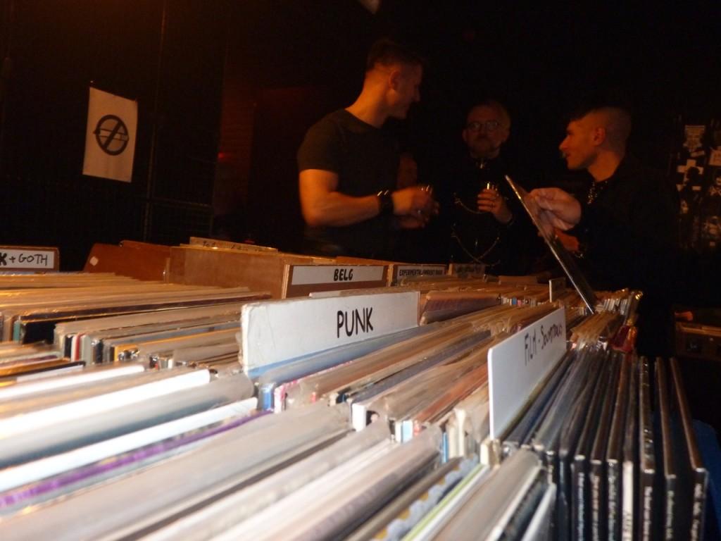 Plattenliebhaber unter sich - beim BIMfest in Belgien