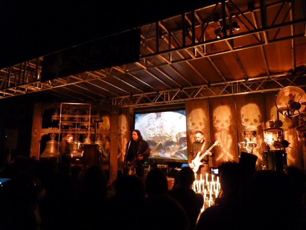 Rosa Crux Auftritt - Les Nuits Dark Ritual 2015