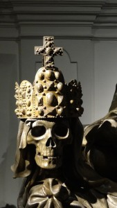 Särge der Habsburger Kaisergruft Wien