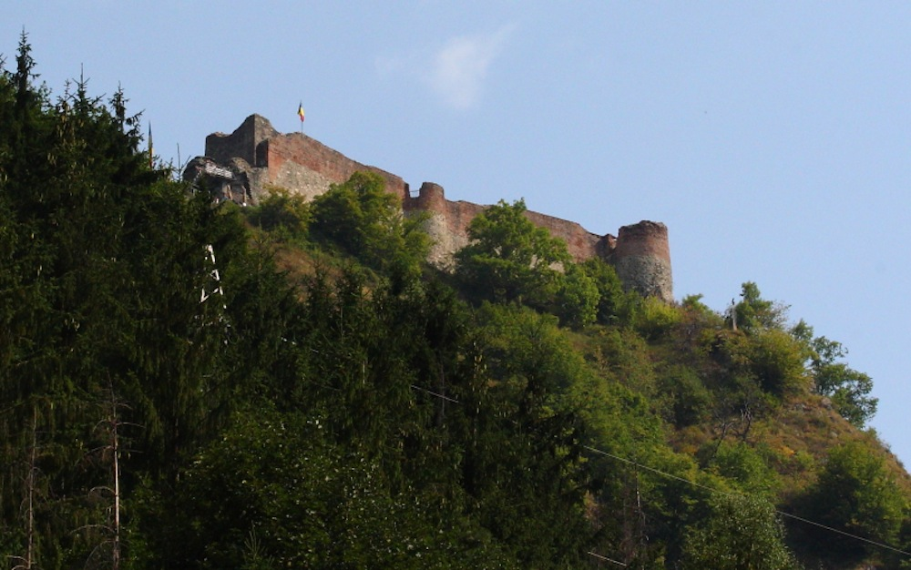 Draculas Burg & Festung Poenari in den Bergen der Großen Walachei