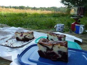 Kuchen-Frühstück in Polen