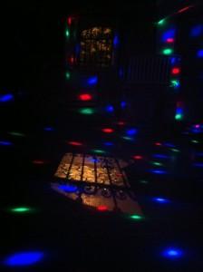 Tanzflächengelichter