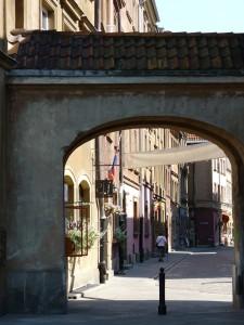 Gässchen in der Warschauer Altstadt