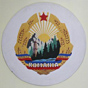 Staatswappen der sozialistischen Republik Rumänien