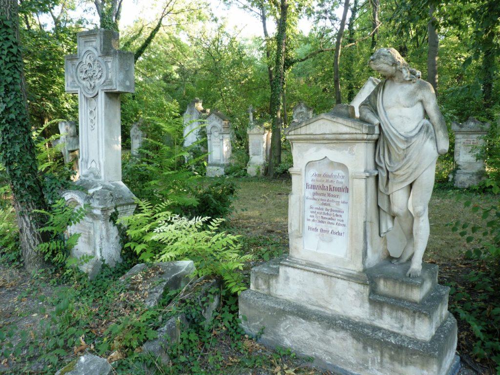 Grabsteine Sankt Marxer Friedhof Wien